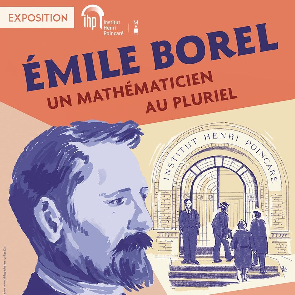 Affiche expo Borel